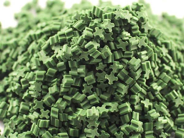 草坪橡胶填充颗粒
